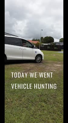 Today we went vehicle hunting